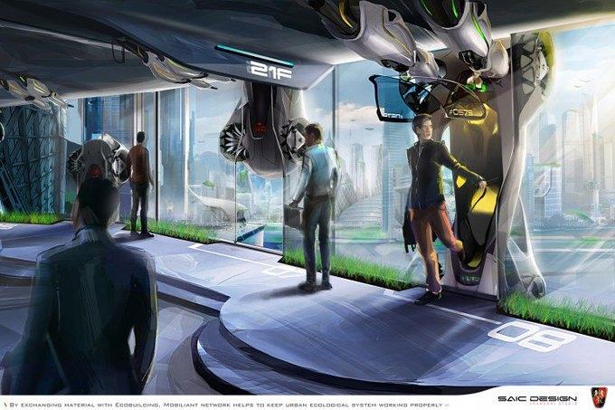 SAIC Motor представил концепцию машины-муравья. Изображение № 5.