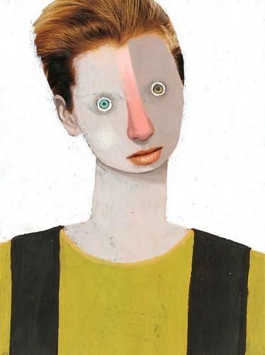 Абсурдные и привлекательные портреты Хуима Тио. Изображение № 14.