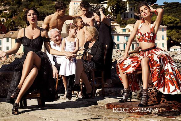 Кампания: Dolce & Gabbana SS 2012. Изображение № 3.