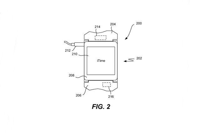 Apple получила патент на смарт-часы iTime . Изображение № 2.