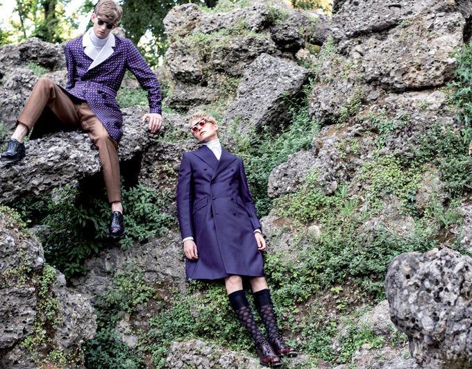 Вышли новые мужские съемки из Citizen K, Fashionisto, Vogue и других журналов. Изображение № 23.