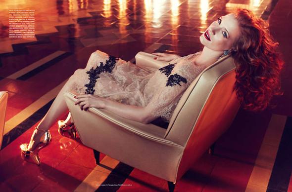 Съёмки: Harper's Bazaar, Interview, Vogue и другие. Изображение № 22.