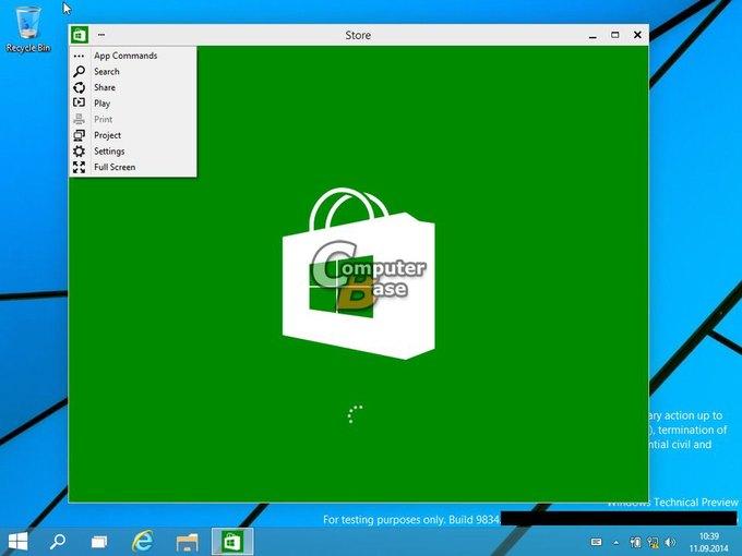В Сеть «утекли» два десятка скриншотов Windows 9. Изображение № 4.
