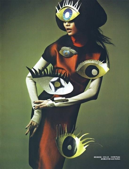 Magical illusion (China Harper's Bazaar, November 2008). Изображение № 12.