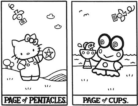 Hello Kitty Таро. Изображение № 21.