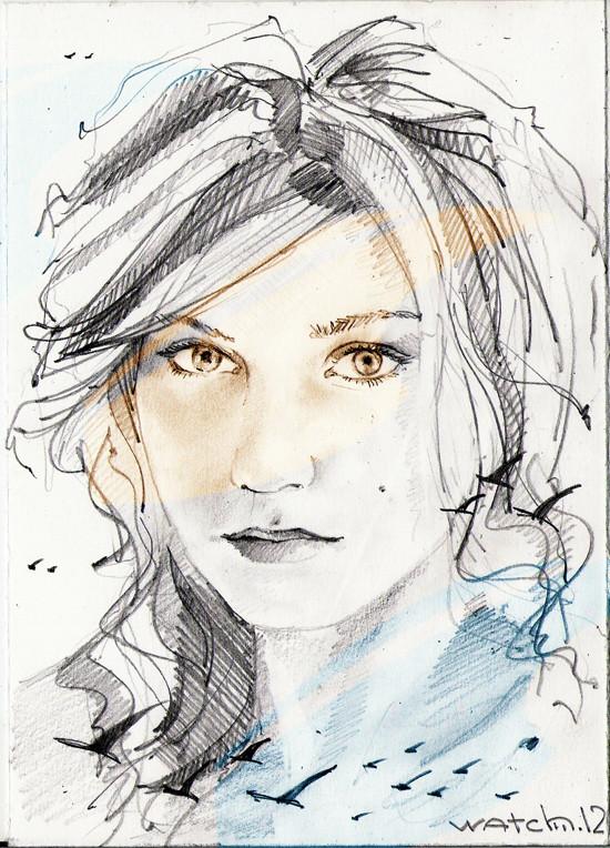 Sketch portraits. Изображение № 6.