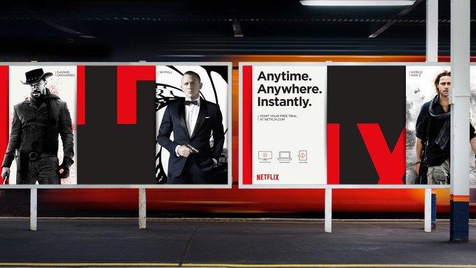 Студия показала новый брендинг Netflix . Изображение № 5.