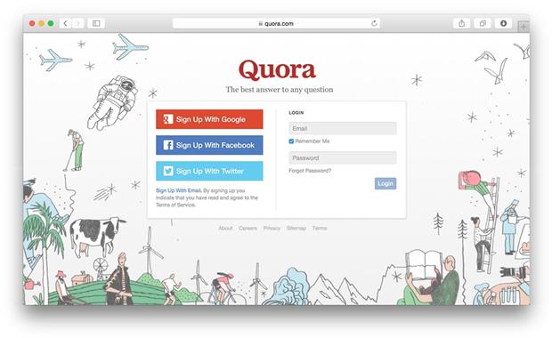 Сайт Quora обновил логотип. Изображение № 2.