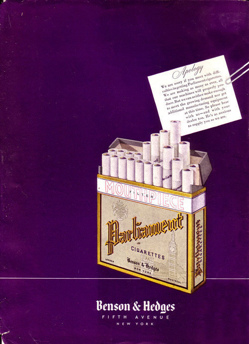 Винтажная реклама табака. Изображение № 7.