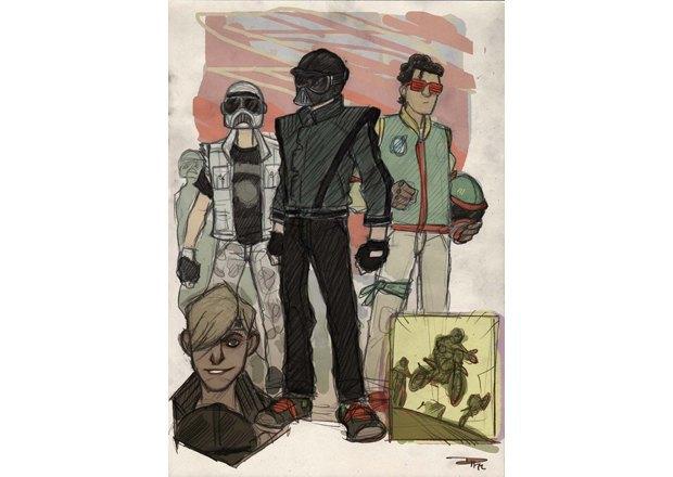 Дизайнер представил героев «Звёздных войн» в стиле 80-х. Изображение № 6.