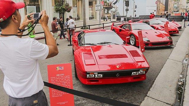 Фото: выставка суперкаров Ferrari в Беверли-Хиллз. Изображение № 3.