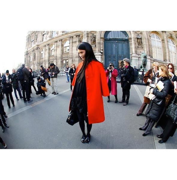 Изображение 44. На полях: 10 тенденций уличного стиля с прошедших недель моды.. Изображение № 44.