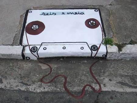 Уличные художники Сан-Пауло делают город веселее. Изображение № 18.
