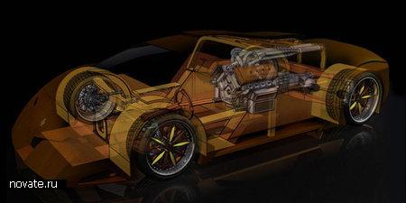 Первый вмире скоростной деревянный автомобиль. Изображение № 4.