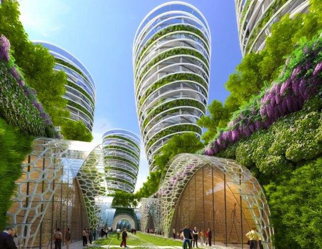 Концепт: экологически безопасный Париж. Изображение № 9.