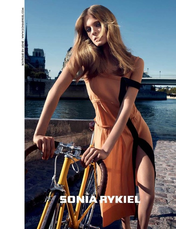 Кампания: Констанс Яблонски для Sonia Rykiel SS 2012. Изображение № 2.