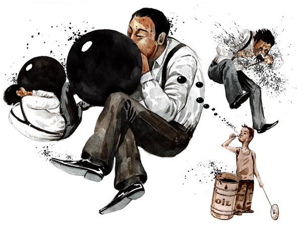 Создать папку: 5 успешных российских иллюстраторов рассказывают о портфолио. Изображение №98.