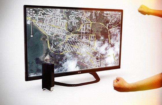 Устройство позволяет управлять техникой при помощи жестов. Изображение № 2.