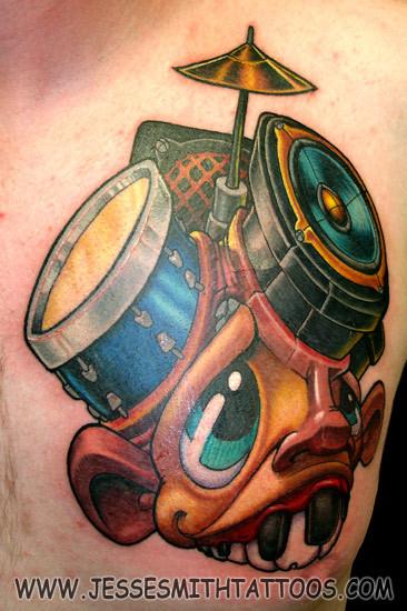 Jesse Smith Tattoo. Изображение № 15.