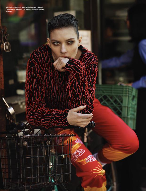 Новые съемки Dazed & Confused, Vogue, i-D и W Magazine. Изображение № 56.