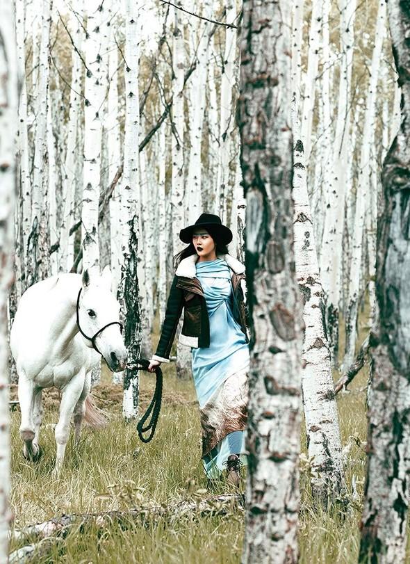 Съёмка: Хиони Канг для Flare. Изображение № 6.