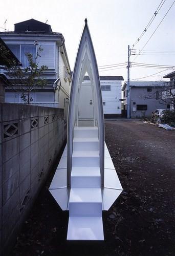 Изображение 2. Инновационный микродом в Токио.. Изображение № 2.