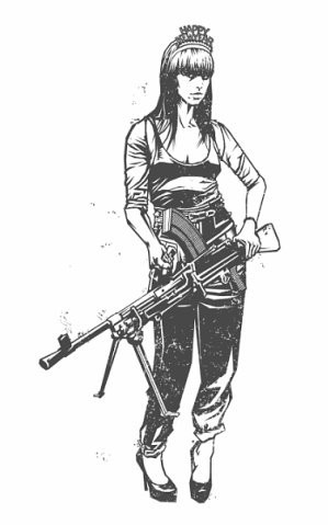 Девушки с оружием от Frank Barbara. Изображение № 11.