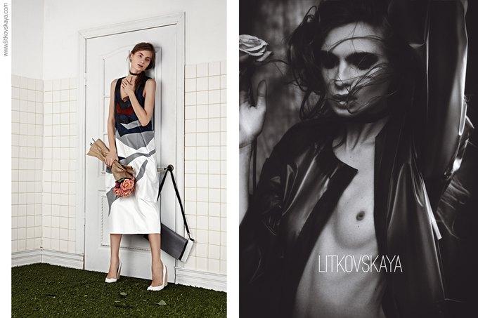 Показана весенне-летняя кампания марки Litkovskaya. Изображение № 4.