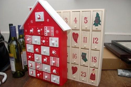 Рождественские календарь своими руками
