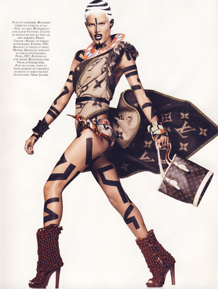 Vogue French November 2009. Изображение № 5.