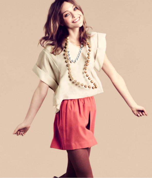 Лукбук: Саша Пивоварова для H&M FW 2011. Изображение № 4.