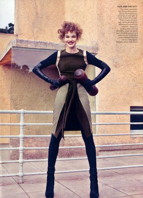 Новые съемки: Vogue, Nylon и другие. Изображение № 15.