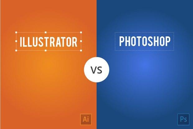 Дизайнер сравнил работу вPhotoshop и Illustrator на13постерах . Изображение № 1.