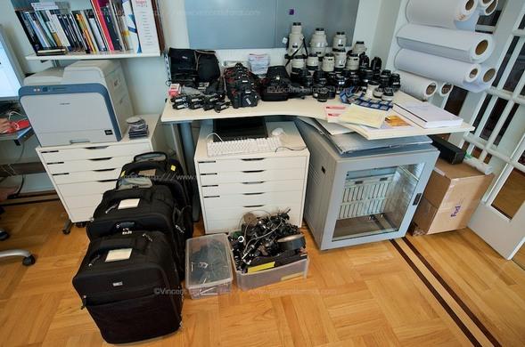 Подготовка фотографа Vincent Laforet кОлимпиаде. Изображение № 2.