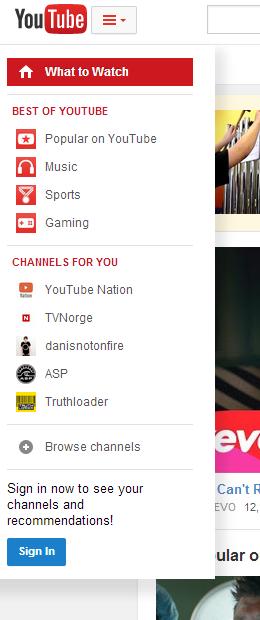 YouTube готов обновить интерфейс. Изображение № 1.