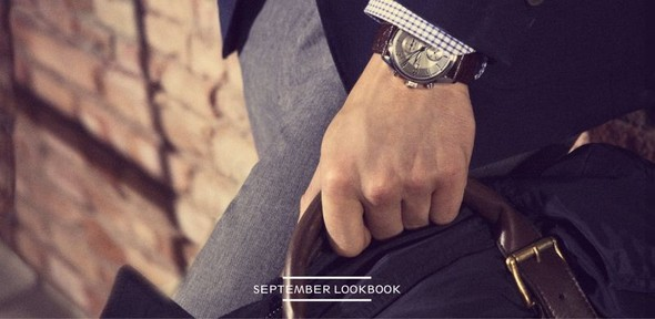 Лукбук: Massimo Dutti September 2011 Menswear. Изображение № 4.