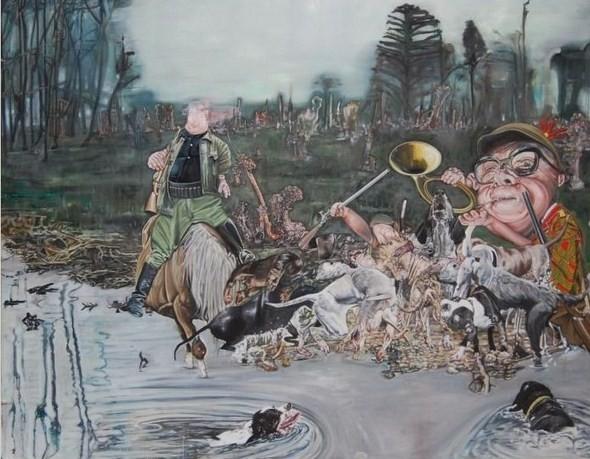 """""""Искусство расширенного сознания"""" в полотнах швейцарского художника. Изображение № 11."""