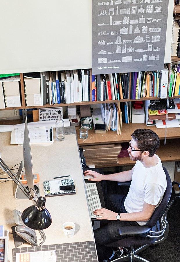 Гельветика и ретро: Как выглядит офис легендарного дизайн-бюро Pentagram. Изображение № 4.