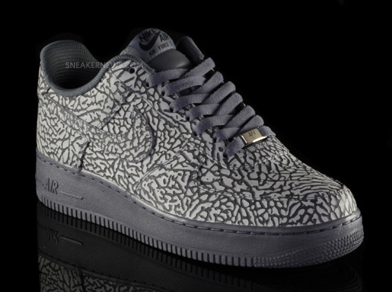 Nike Air Force 1 iD Elephant Print – Sneaker News Editions. Изображение № 7.