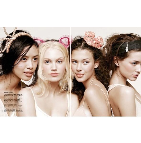 5 новых съемок: Amica, Elle, Harper's Bazaar, Vogue. Изображение № 10.