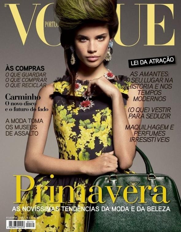 Обложки Vogue: Британия и Португалия. Изображение № 2.