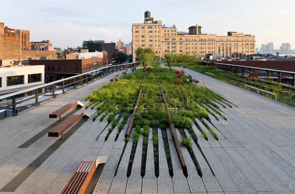The High Line: история о том, как железная дорога обрела друзей. Изображение № 6.