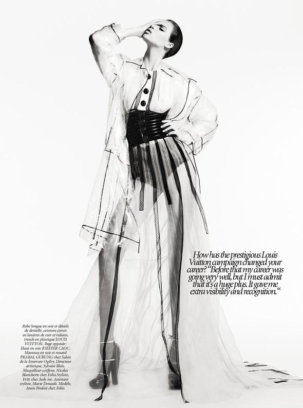 Съёмка: Анаис Пульо для Dress to Kill. Изображение № 7.