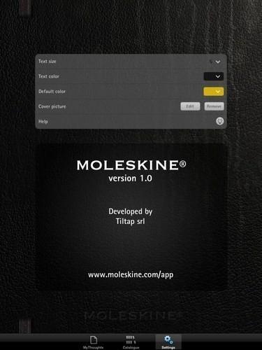 Изображение 2. Приложение Moleskine для iPhone и iPad.. Изображение № 2.