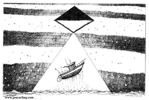 Jon Carling – мистерии в гелевой ручке. Изображение № 10.