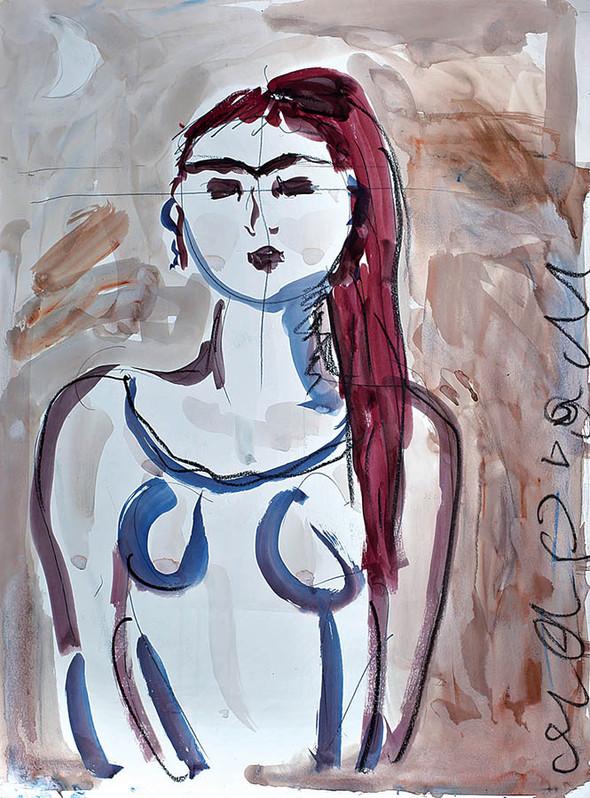 «NOVRUZ -новый день». Выставка художника Марьям Алакбарли в ММСИ. Изображение № 2.