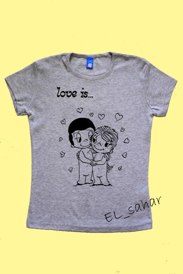 Elsaharova: половинчатые футболки на 14 февраля. Изображение № 23.