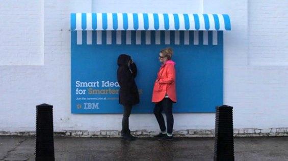 Рекламная кампания IBM защитит от дождя. Изображение № 3.
