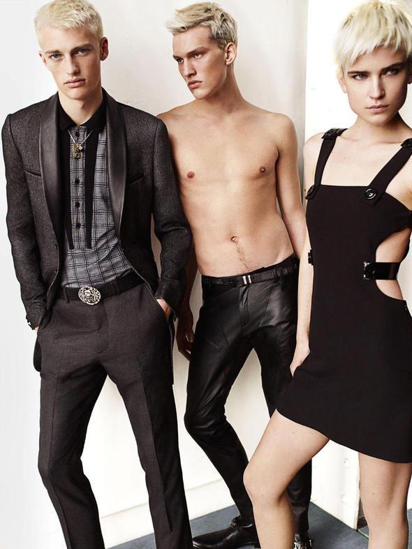 Изображение 25. Мужские рекламные кампании: Mugler, Versace и другие.. Изображение № 4.