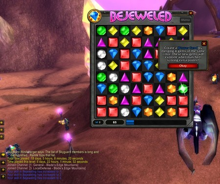 Bejeweled – теперь ив WoW. Изображение № 2.